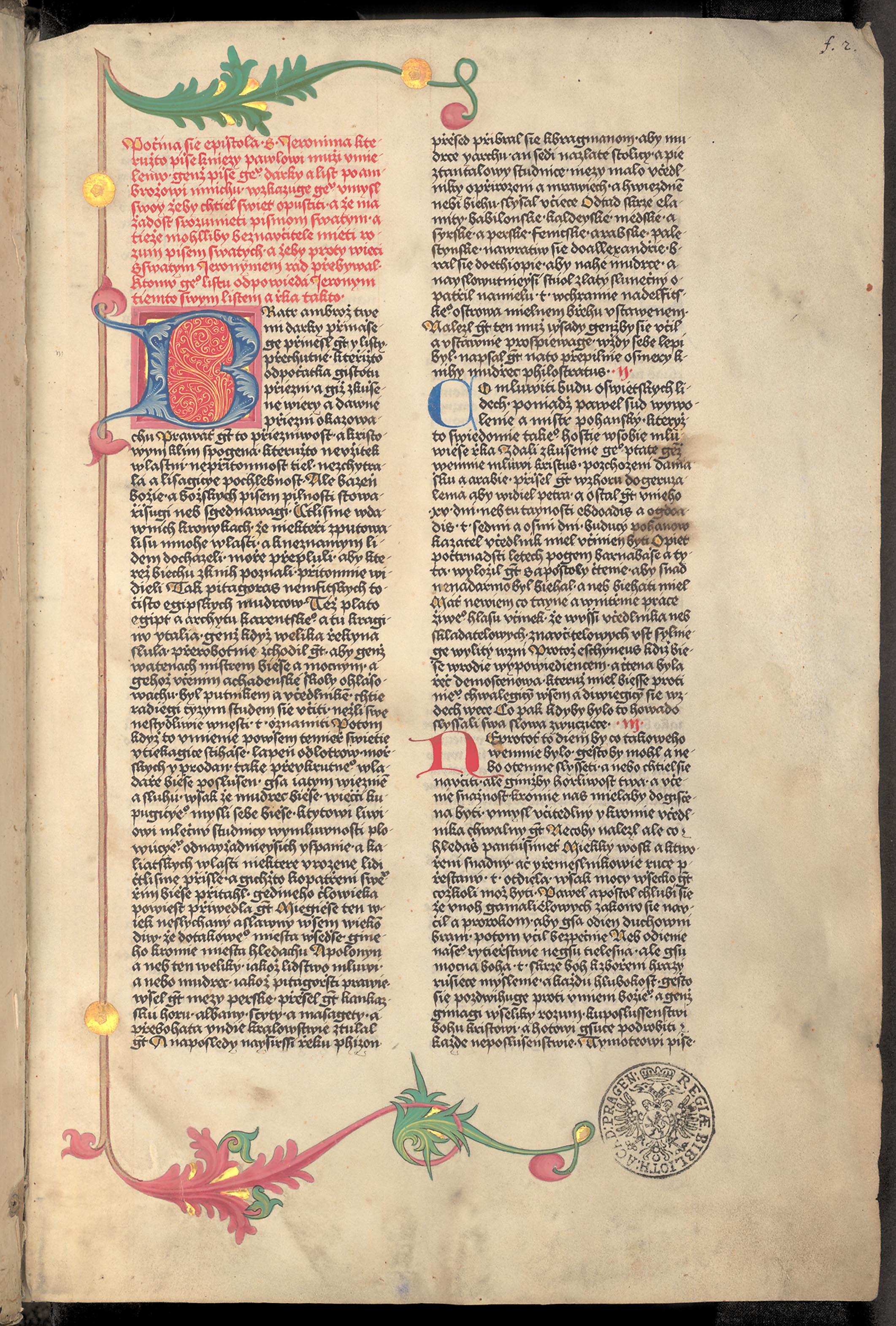 Bible Hodějovská