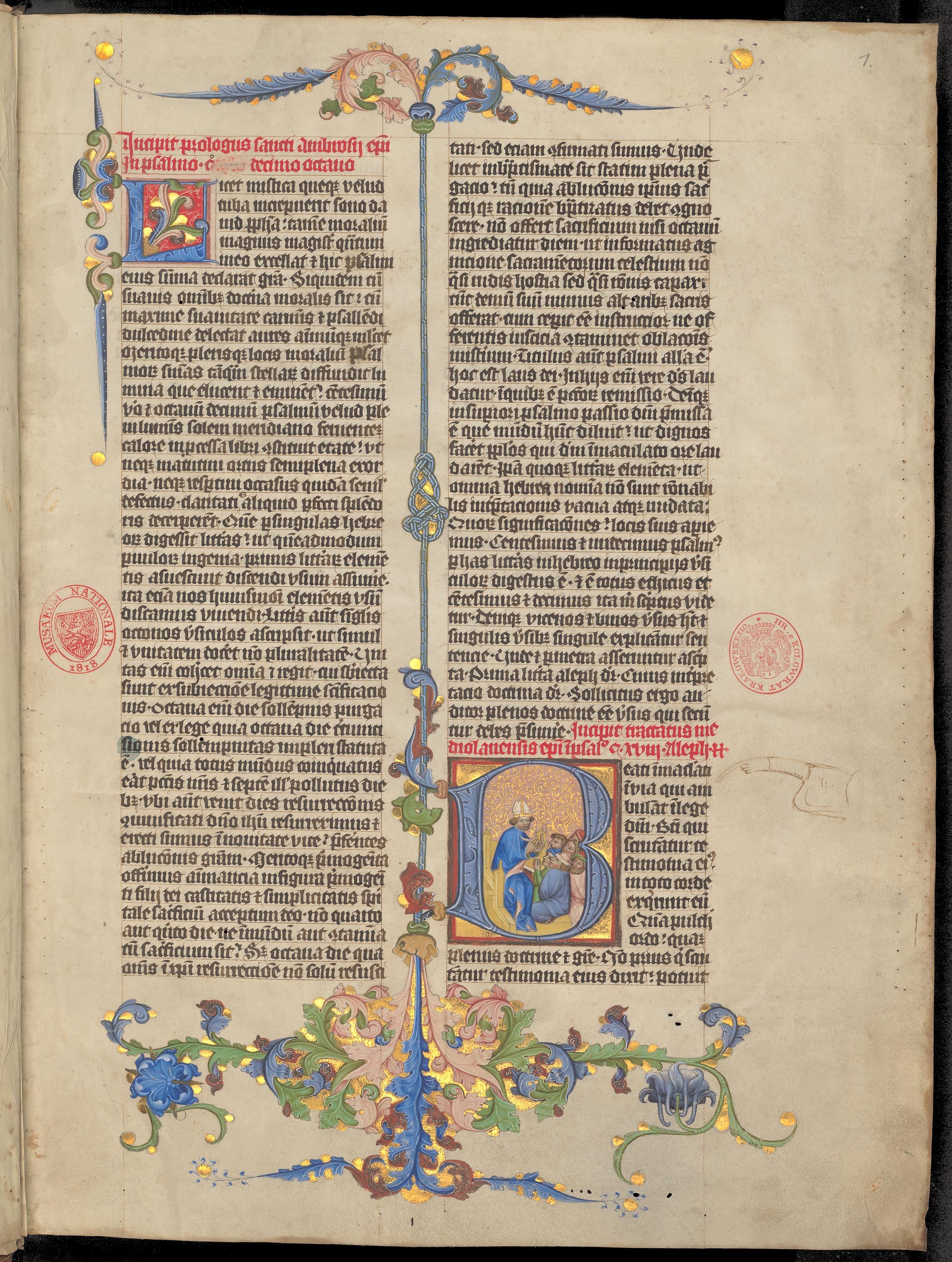 Ambrosius Mediolanensis: Expositio in psalmum David CXVIII