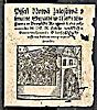 Píseň nová žalostivá o smutné svatbě v městě Erfurtu v durynské krajině léta přítomného M DC IX (1609)