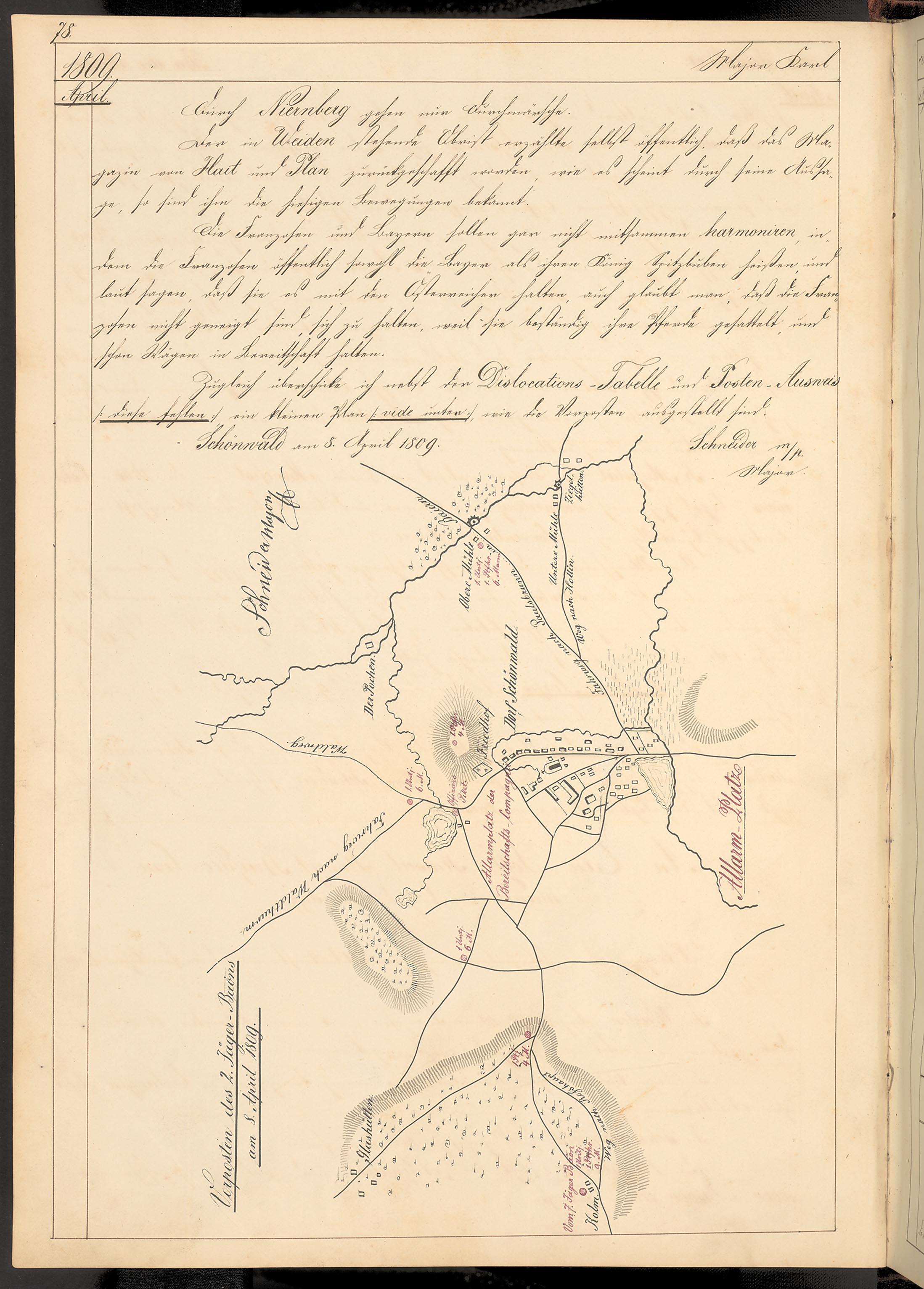 Anton Mudroch: Geschichte des k. k. 2ten Feld Jäger Bataillons (1808-1863)