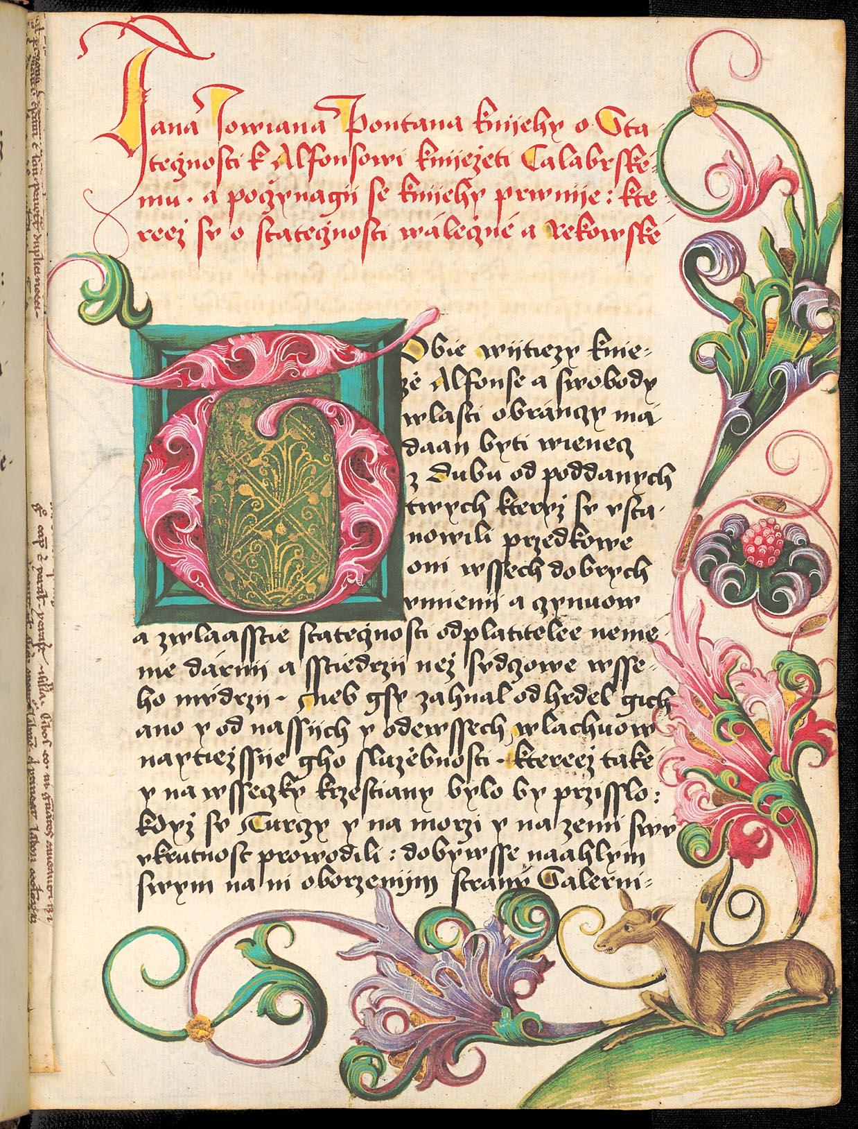 Giovanni Gioviano Pontano (Johannes Jovianus Pontanus, Jan Jovian Pontanus): De fortitudine (O statečnosti)